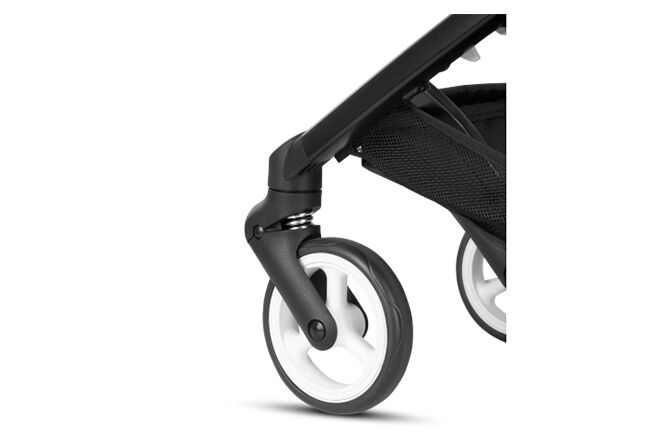 Smooth Front-Wheel Suspension