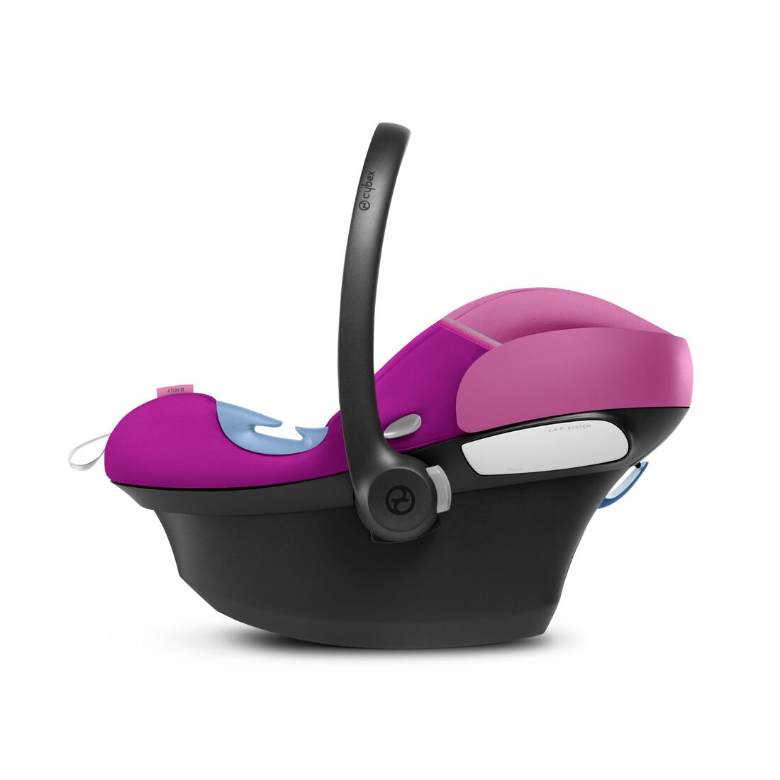 CYBEX Aton M i-Size - Magnolia Pink in Magnolia Pink large image number 3