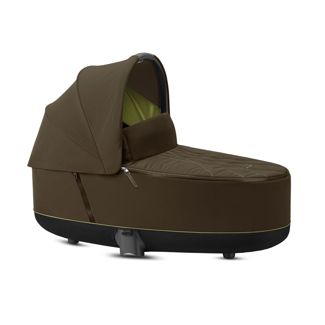 CYBEX Priam Lux Carry Cot - Khaki Green in Khaki Green large image number 1
