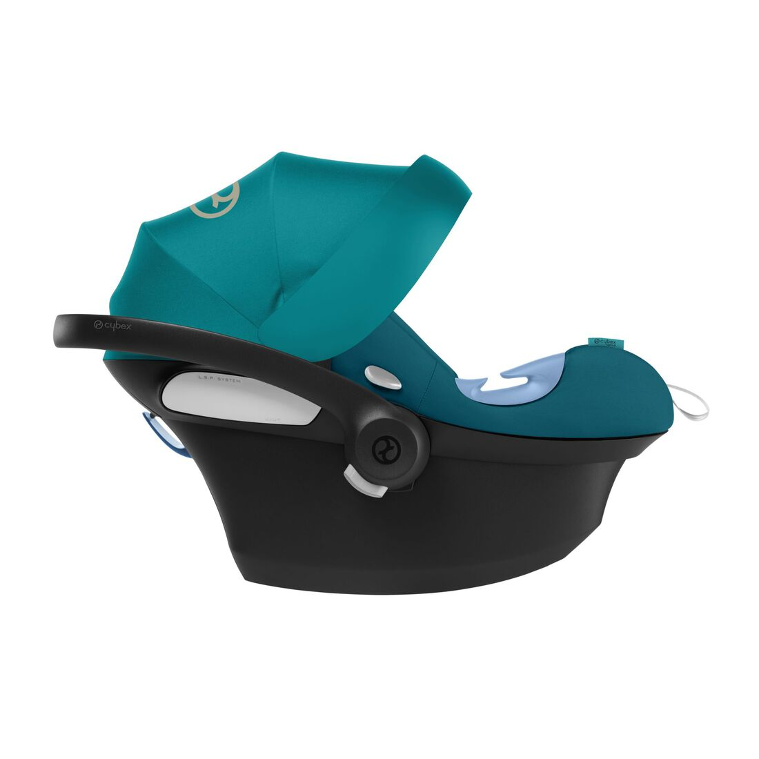 CYBEX Aton M i-Size - River Blue in River Blue large image number 5