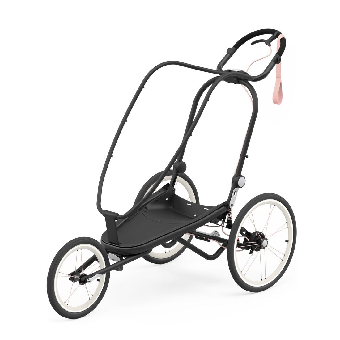 CYBEX Zeno Frame - Black With Pink Details in Black With Pink Details large image number 1