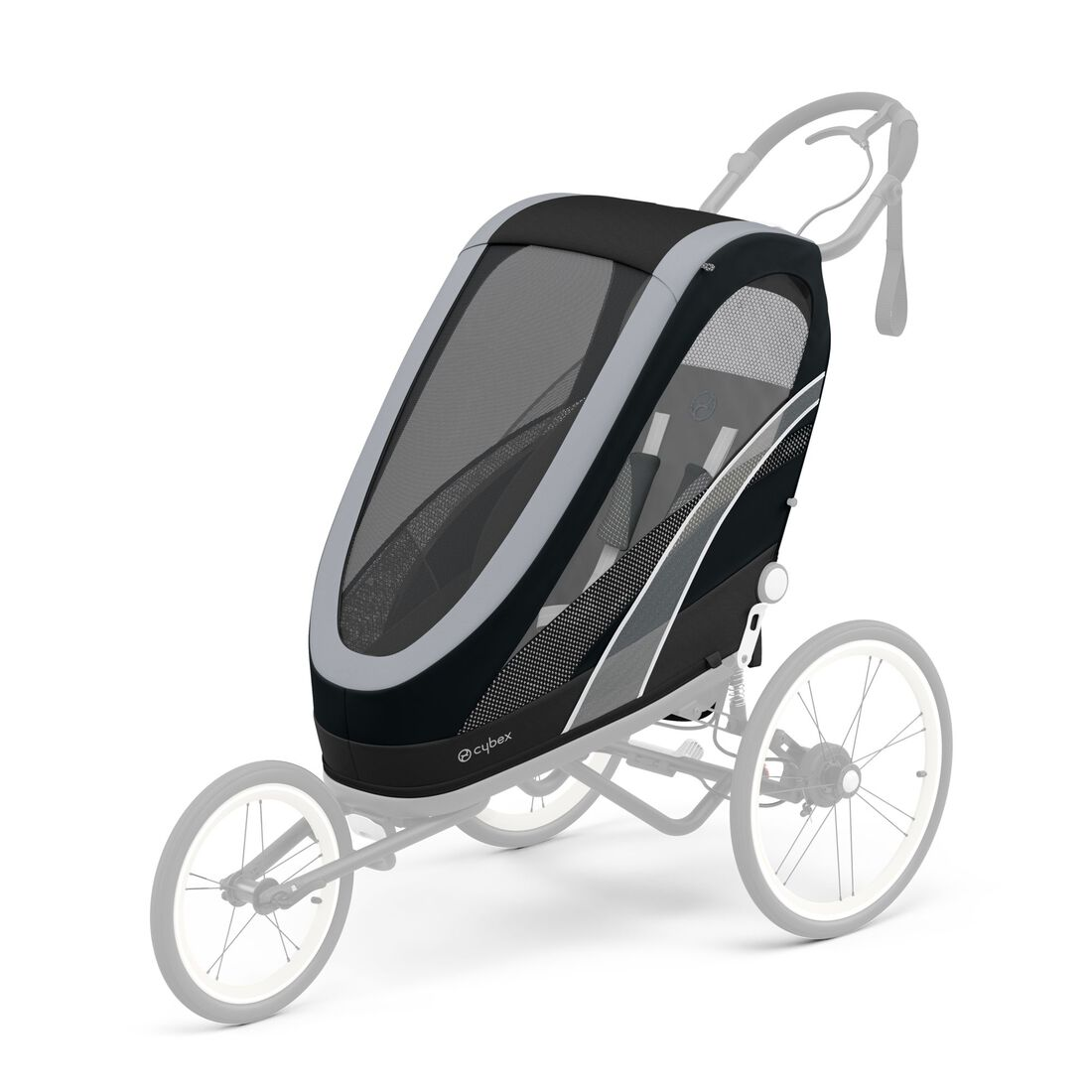 CYBEX Zeno Seat Pack - All Black in All Black large image number 1