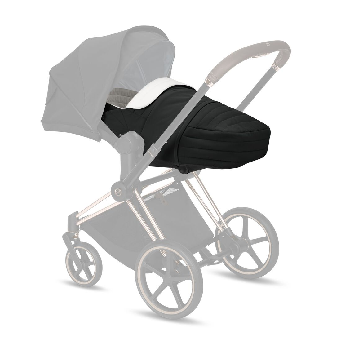 CYBEX Lite Cot - Deep Black in Deep Black large Bild 1