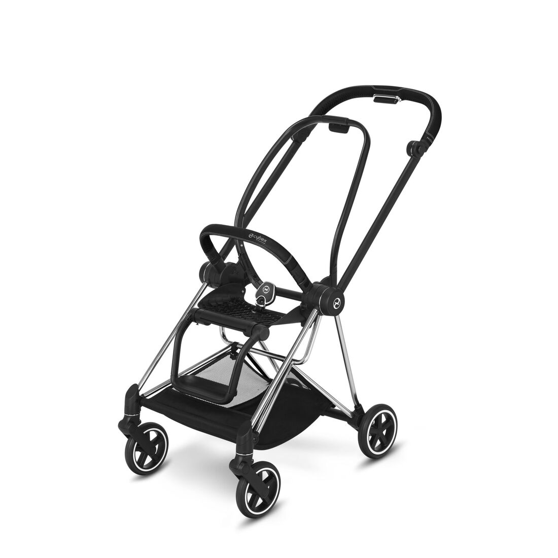 CYBEX Mios Frame - Chrome With Black Details in Chrome With Black Details large image number 1