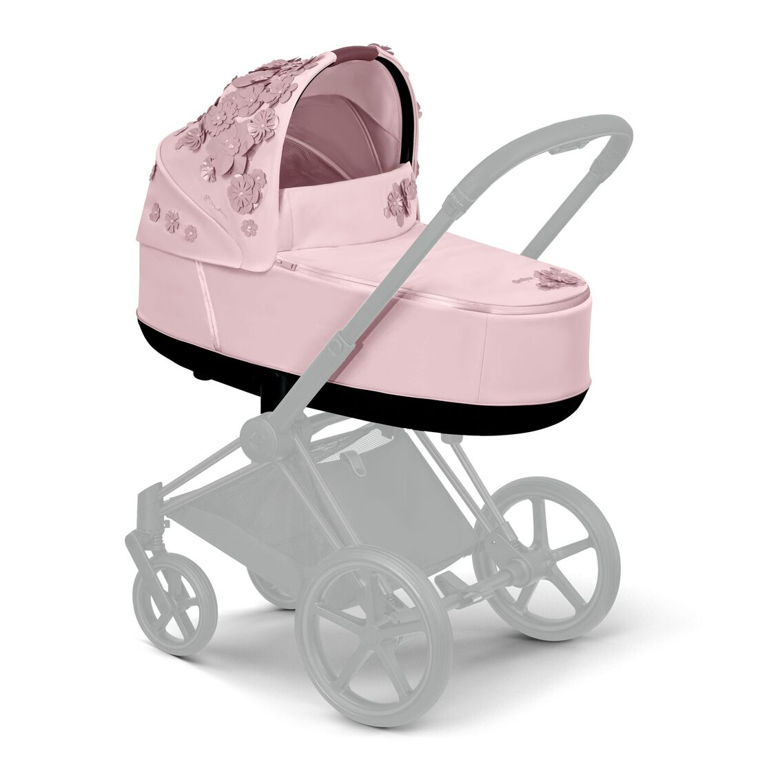 CYBEX Priam Lux Carry Cot - Pale Blush in Pale Blush large image number 5