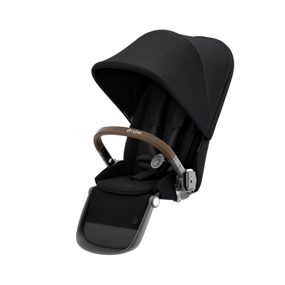 CYBEX Gazelle S Seat Unit - Deep Black (Taupe Frame) in Deep Black (Taupe Frame) large image number 1