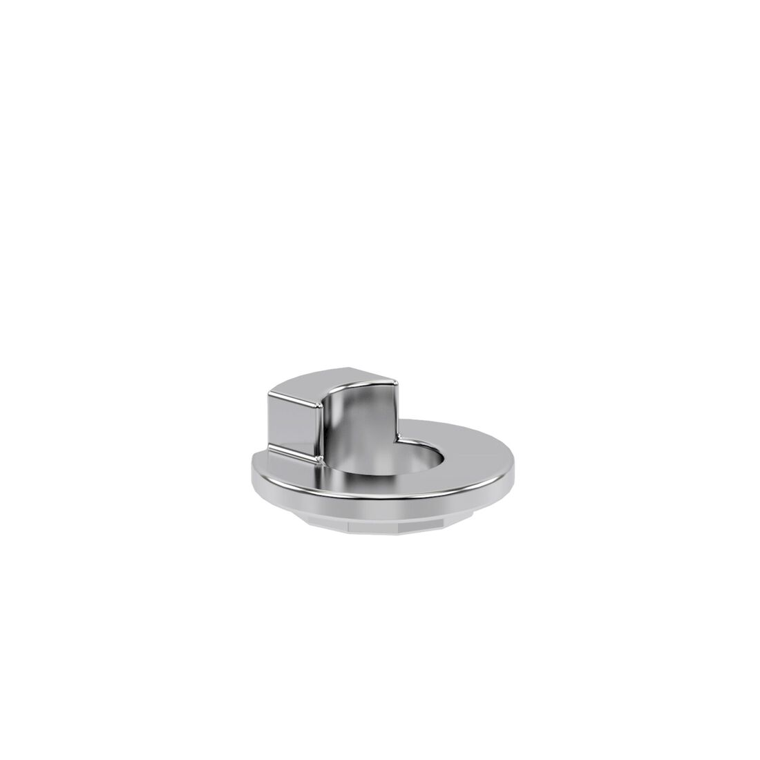 CYBEX Spacer For Solid Axle 2.5 in Silver - 2.5mm large image number 1