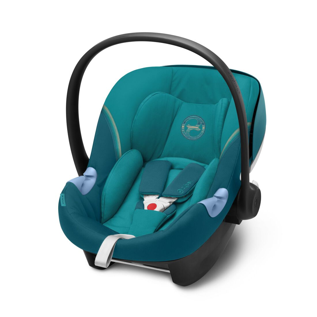 CYBEX Aton M i-Size - River Blue in River Blue large image number 1