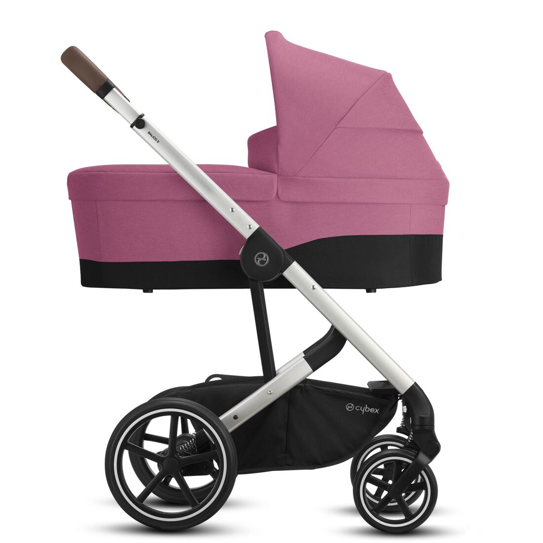CYBEX Balios S Lux - Magnolia Pink (Silver Frame) in Magnolia Pink (Silver Frame) large image number 2