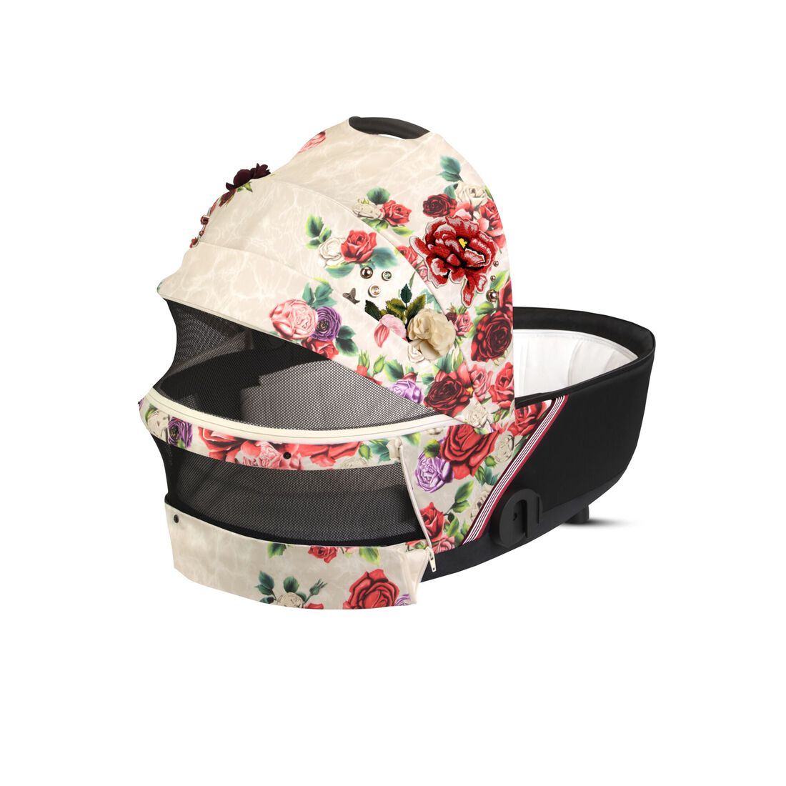 CYBEX Mios Lux Carry Cot - Spring Blossom Light in Spring Blossom Light large image number 3