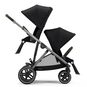 CYBEX Gazelle S - Deep Black (Taupe Frame) in Deep Black (Taupe Frame) large image number 2 Small