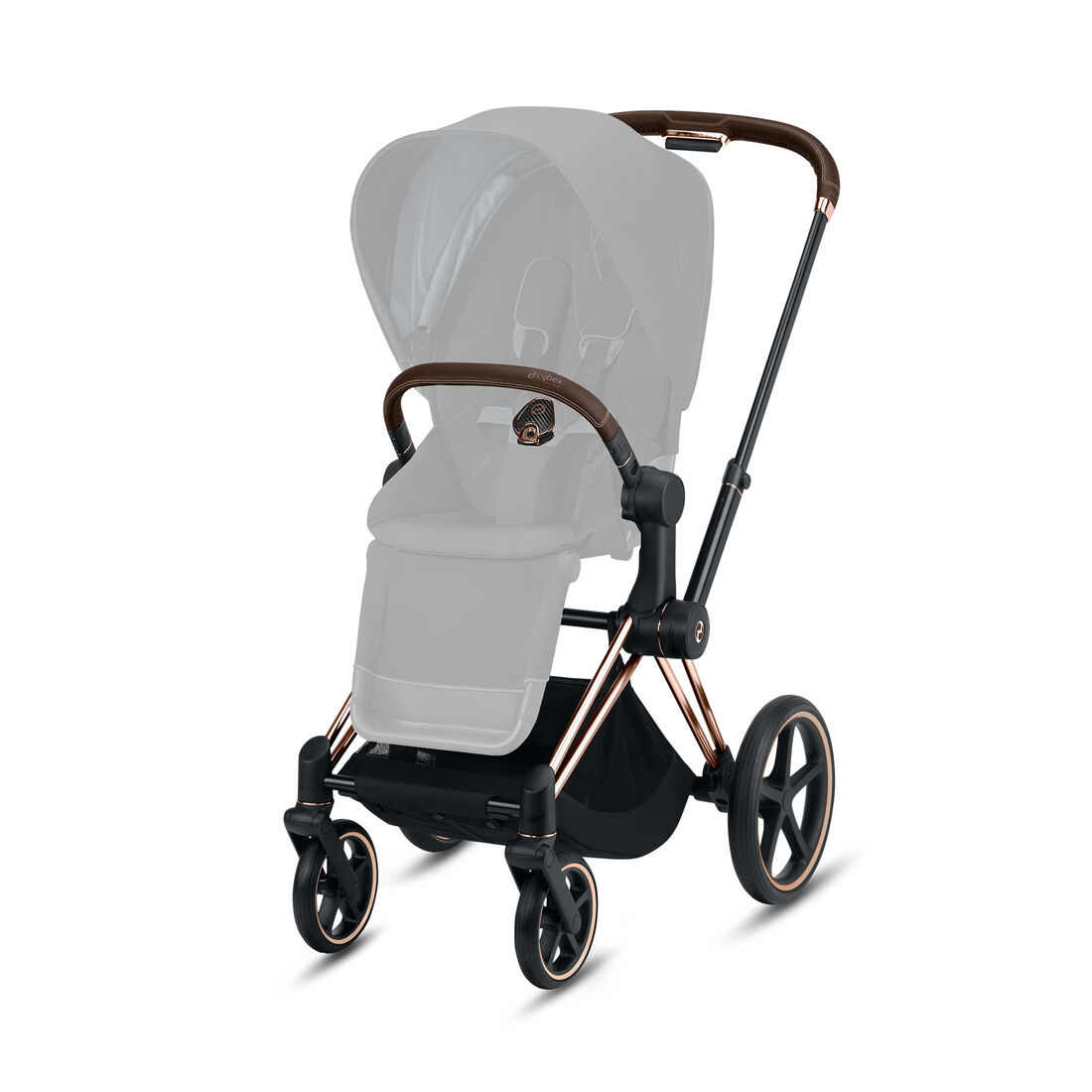 CYBEX Priam Frame - Rosegold in Rosegold large image number 2