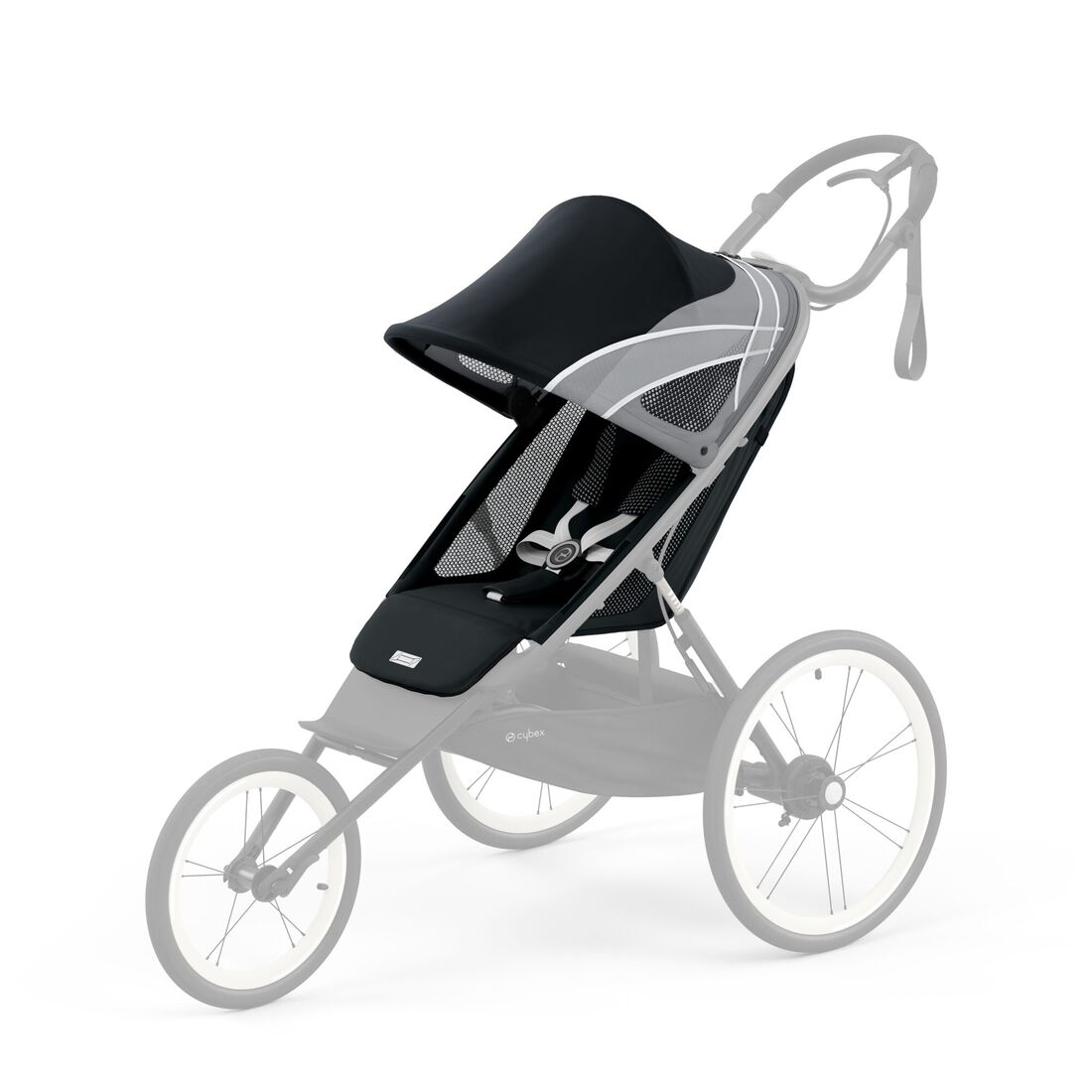 CYBEX Avi Seat Pack - All Black in All Black large image number 1