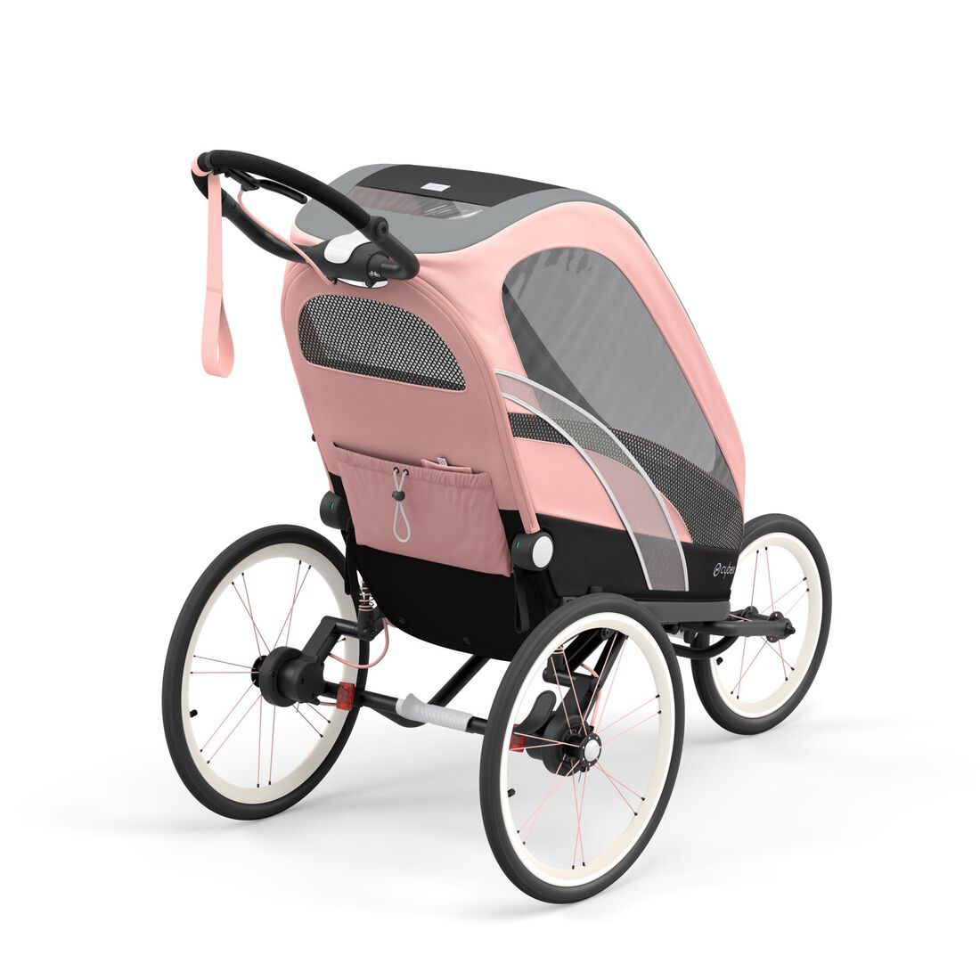 CYBEX Zeno Frame - Black With Pink Details in Black With Pink Details large image number 5