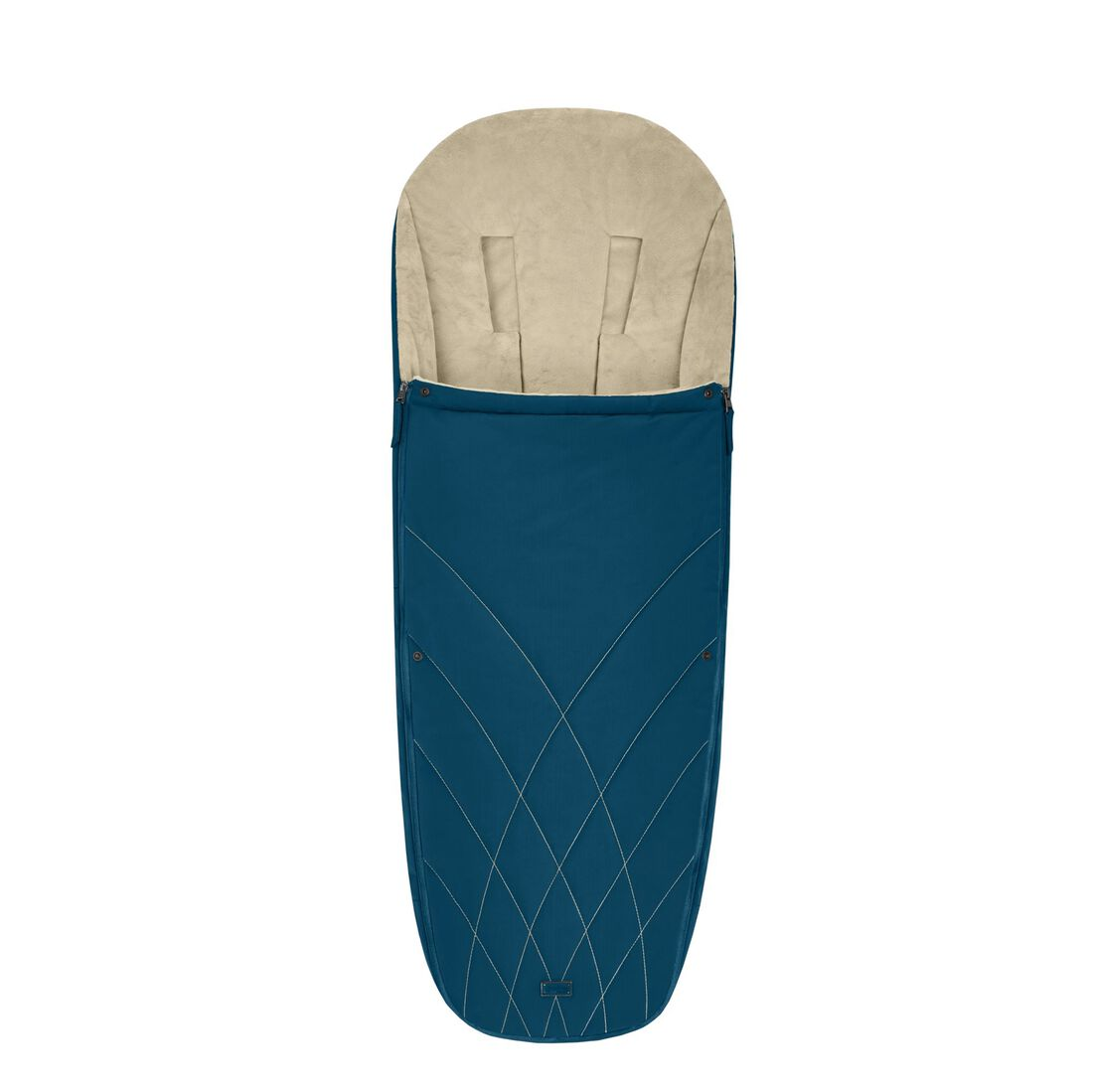 CYBEX Platinum Footmuff - Mountain Blue in Mountain Blue large image number 1