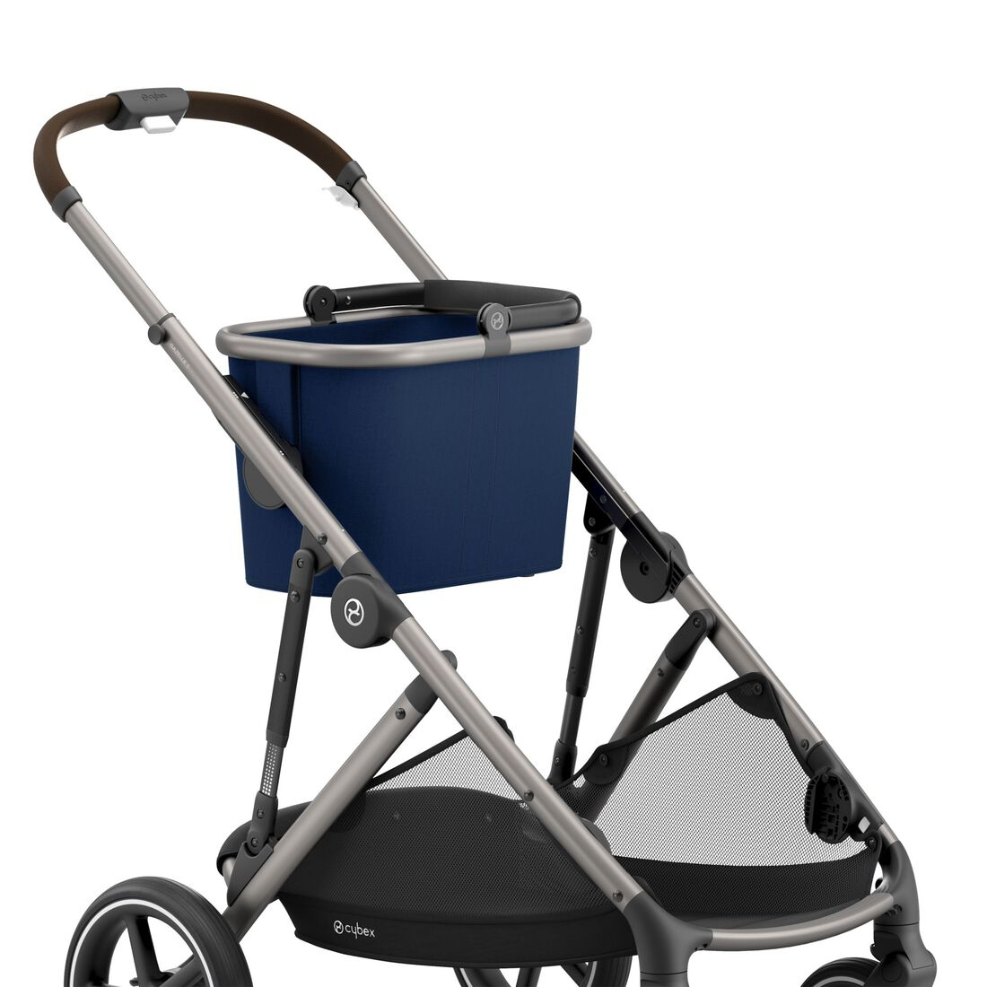 CYBEX Gazelle S - Navy Blue (Taupe Frame) in Navy Blue (Taupe Frame) large image number 7