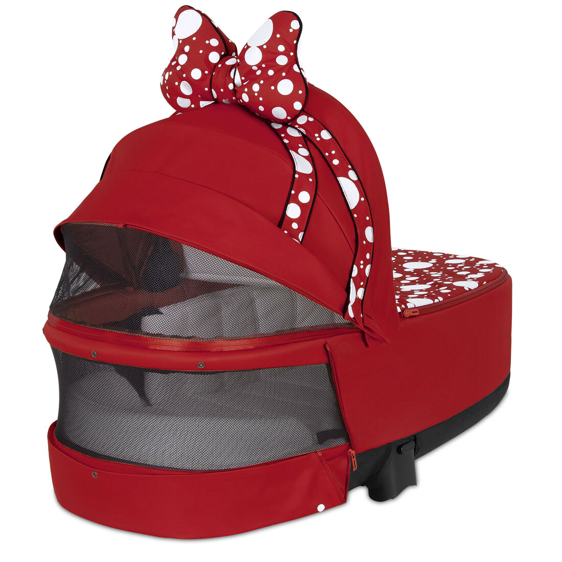CYBEX Priam Lux Carry Cot - Petticoat Red in Petticoat Red large image number 4