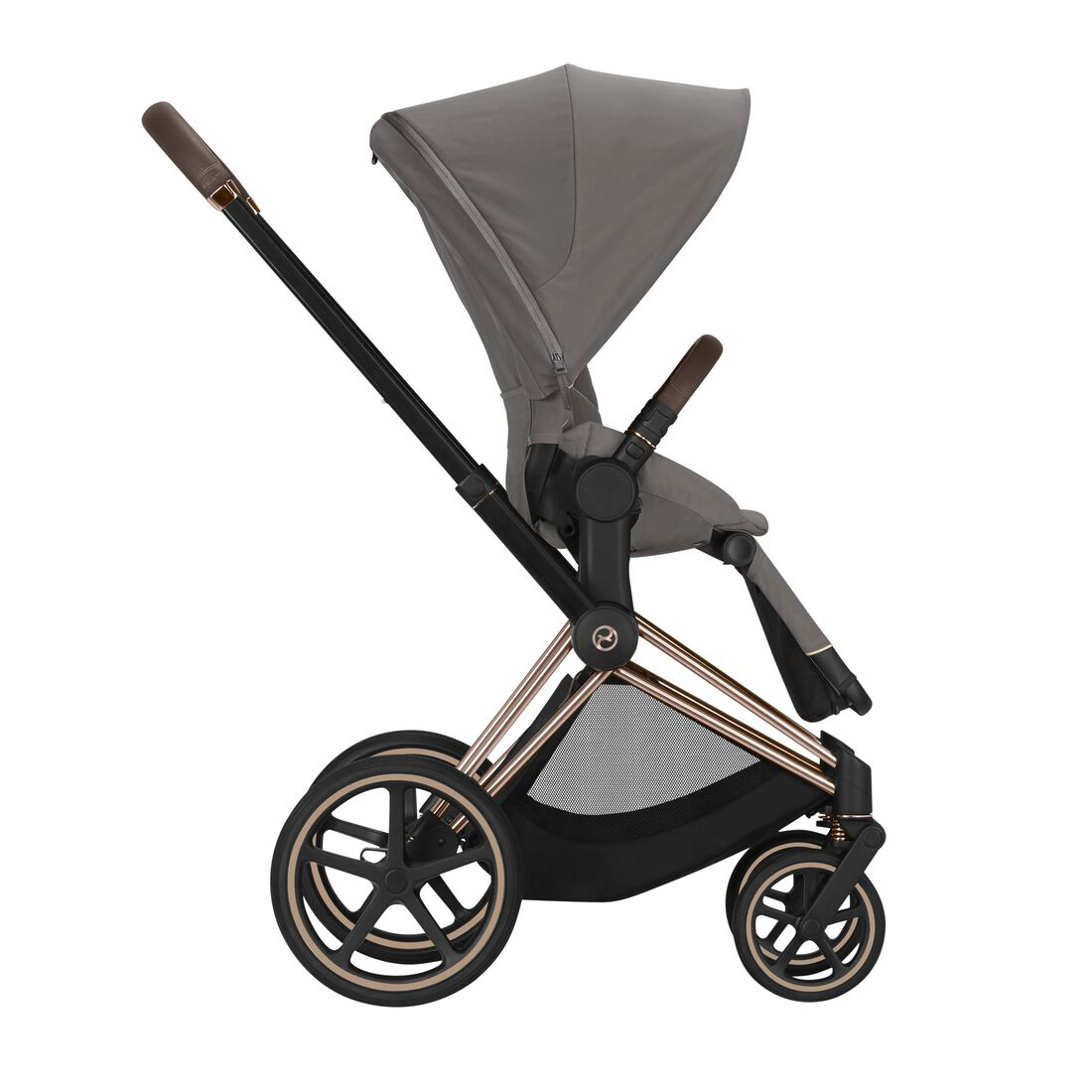 CYBEX Priam Seat Pack - Soho Grey in Soho Grey large image number 3