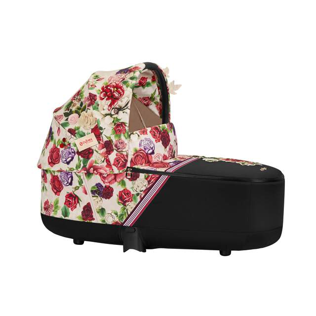 Priam Lux Carry Cot - Spring Blossom Light
