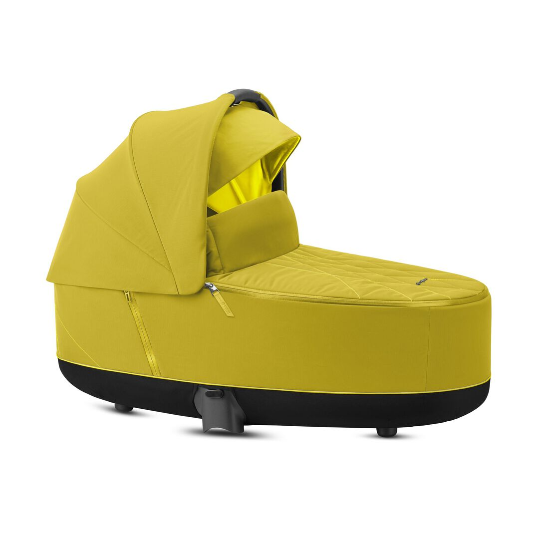 CYBEX Priam Lux Carry Cot - Mustard Yellow in Mustard Yellow large image number 2