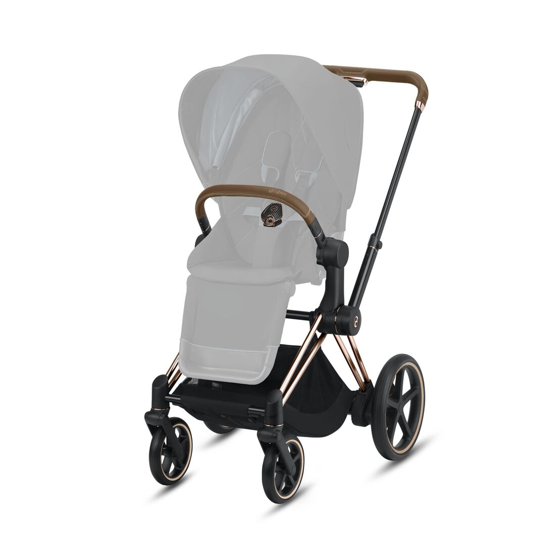 CYBEX e-Priam Frame - Rosegold in Rosegold large