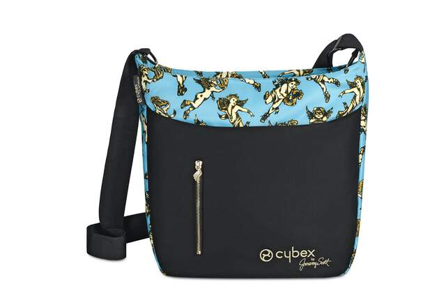 Wickeltasche Jeremy Scott - Cherubs Blue