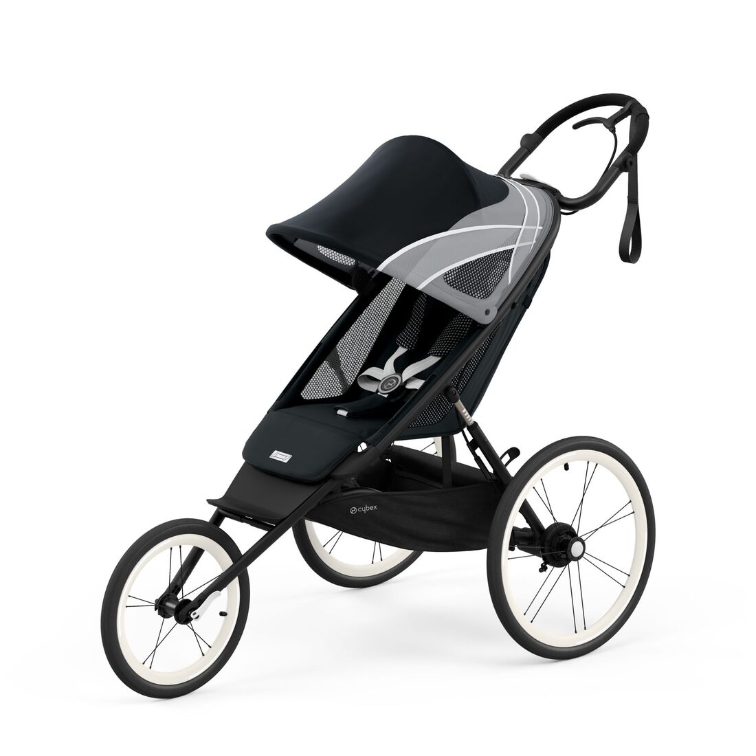 CYBEX Avi Seat Pack - All Black in All Black large image number 2