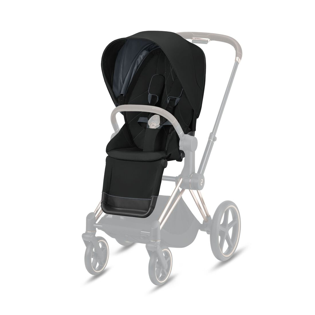 CYBEX Priam Sitzpaket - Deep Black in Deep Black large