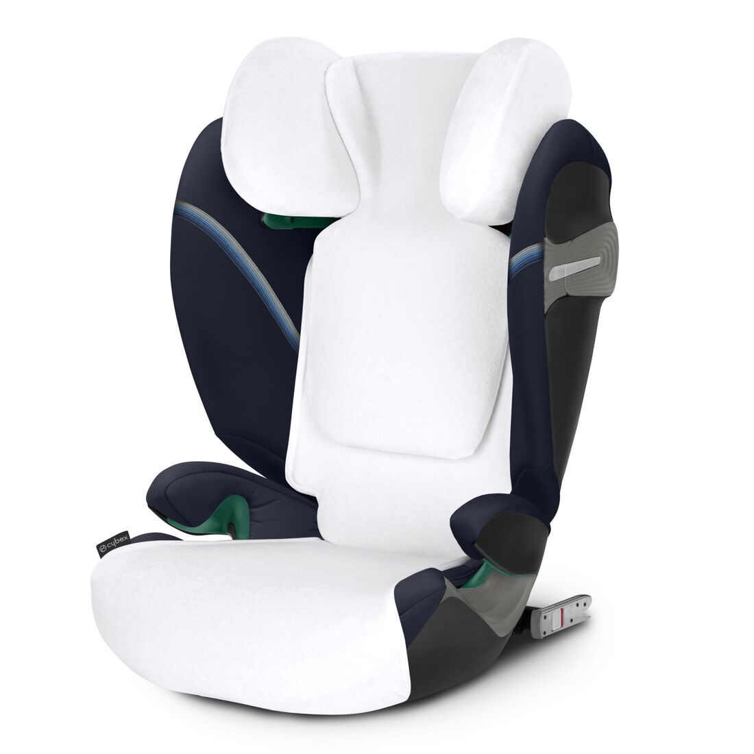 CYBEX Summer Cover Pallas/Solution S - White in White large image number 2