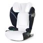 CYBEX Summer Cover Pallas/Solution S - White in White large image number 2 Small