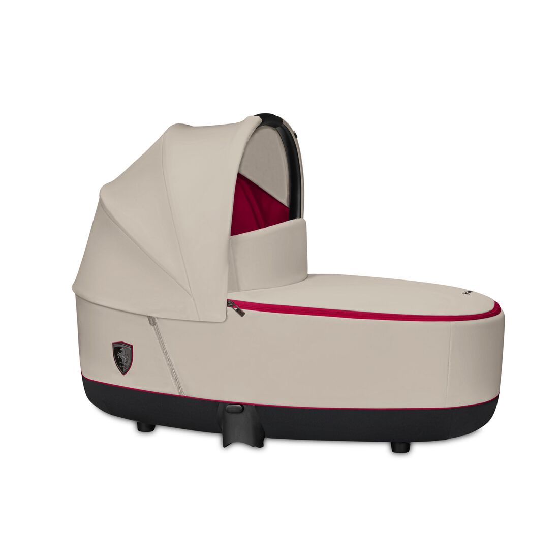 CYBEX Priam Lux Carry Cot - Ferrari Silver Grey in Ferrari Silver Grey large Bild 1