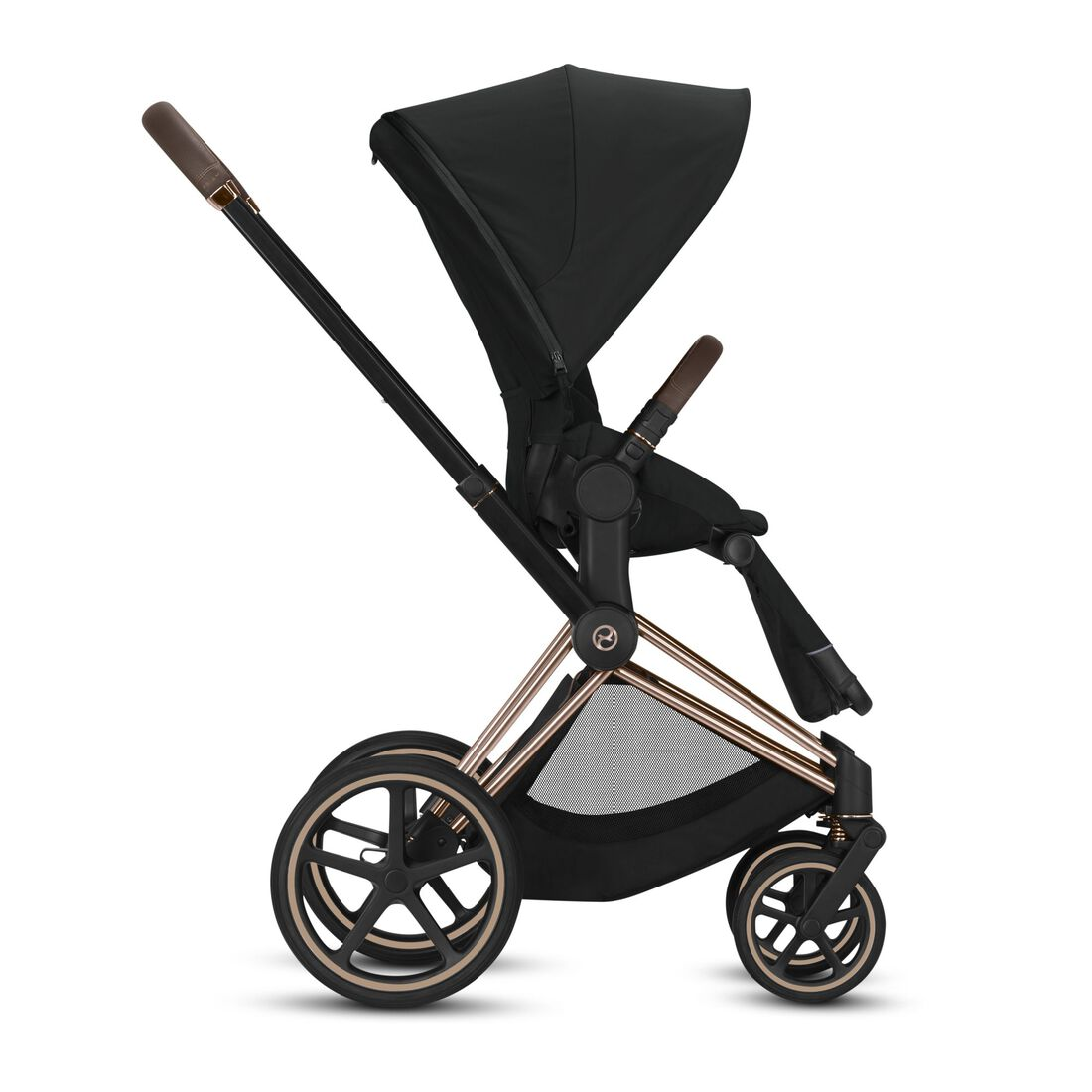 CYBEX Configure Priam Set: Frame, Lux Carry Cot, Seat Pack in  large image number 3
