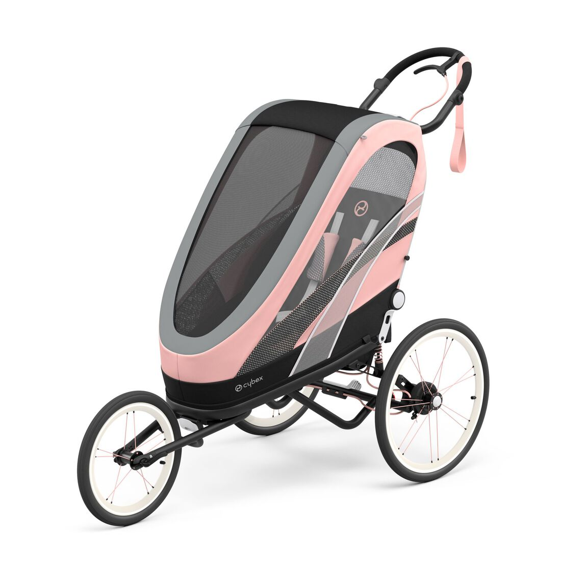 CYBEX Zeno Seat Pack - Silver Pink in Silver Pink large image number 2