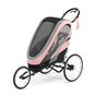 CYBEX Zeno Seat Pack - Silver Pink in Silver Pink large image number 2 Small