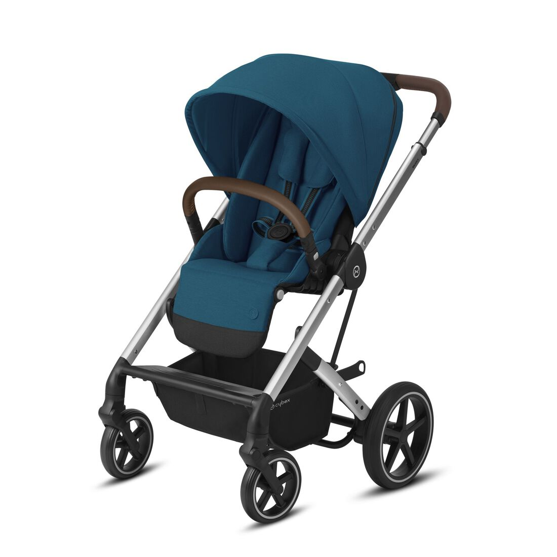CYBEX Balios S Lux - River Blue (Silver Frame) in River Blue (Silver Frame) large image number 1
