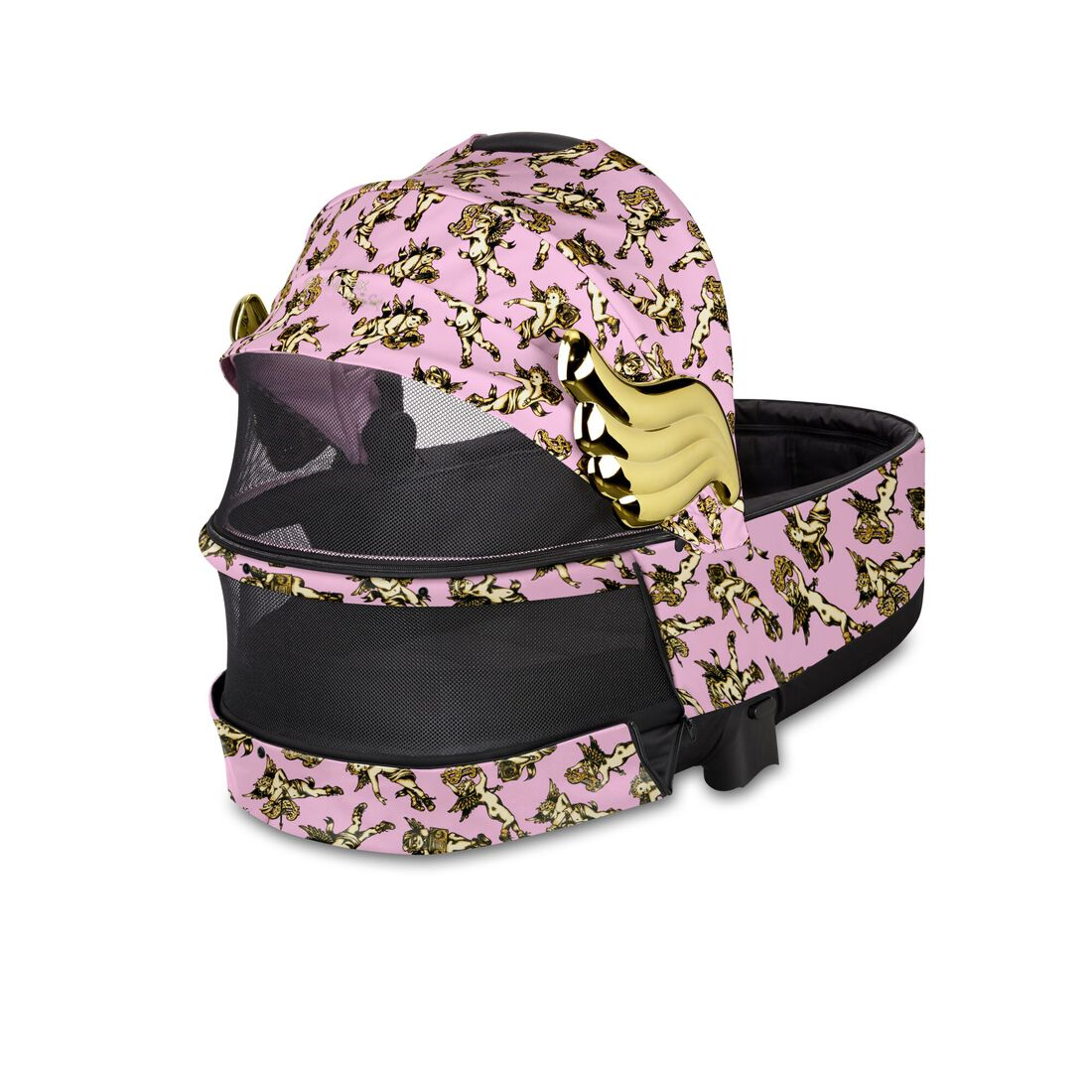CYBEX Priam Lux Carry Cot - Cherubs Pink in Cherubs Pink large Bild 3