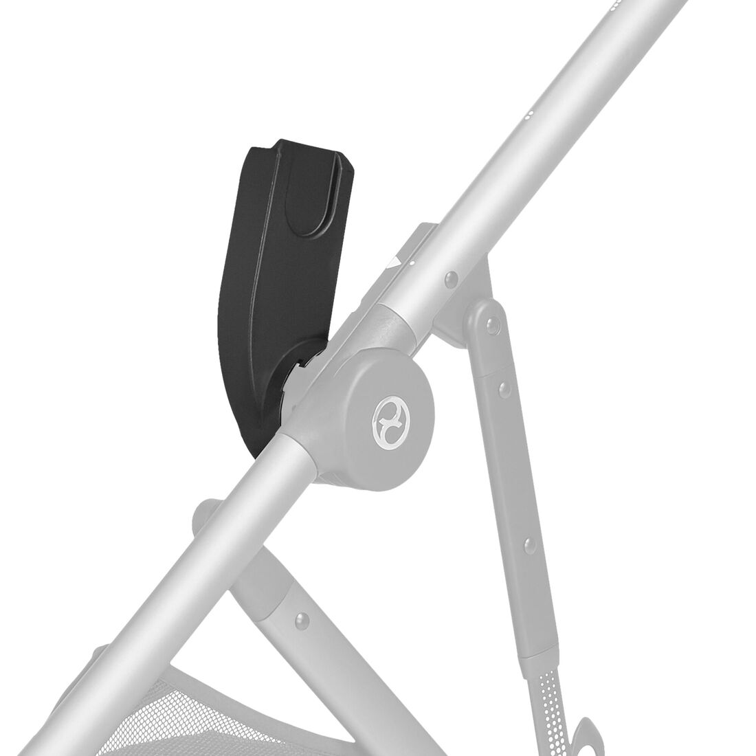 CYBEX Babyschalen Adapter Gazelle S - Black in Black large Bild 2