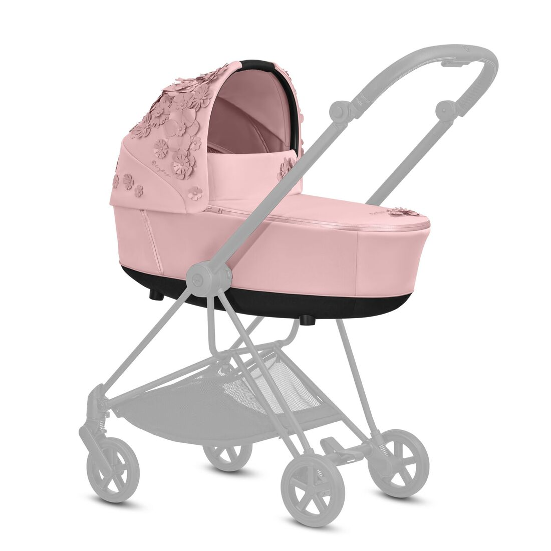 CYBEX Mios Lux Carry Cot - Pale Blush in Pale Blush large image number 4