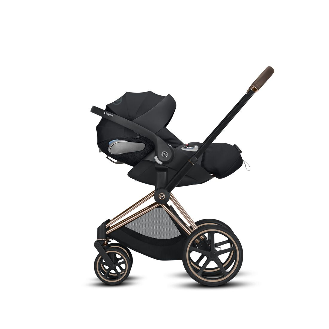 CYBEX Balios S - Front swivel wheels