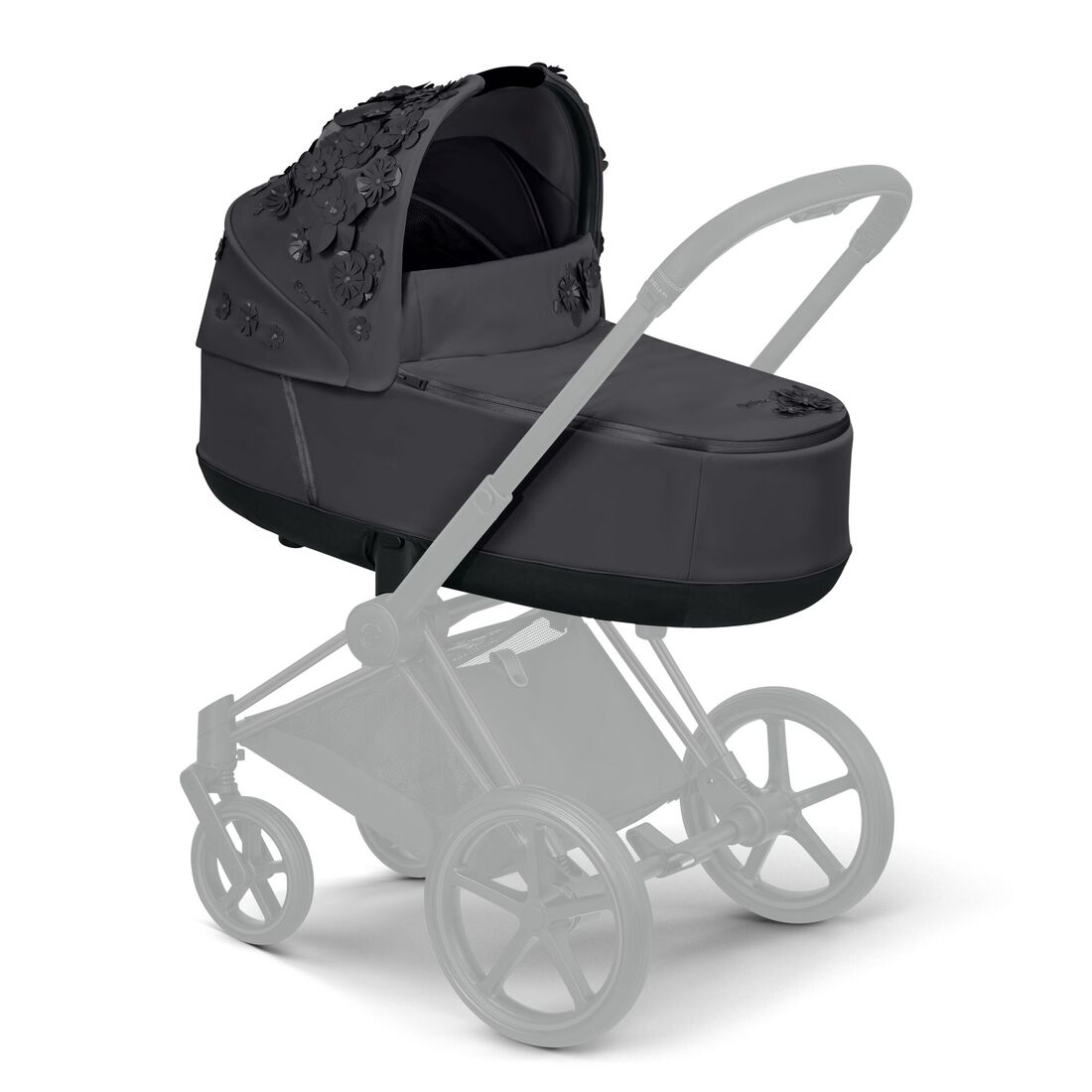 CYBEX Priam Lux Carry Cot - Dream Grey in Dream Grey large image number 5