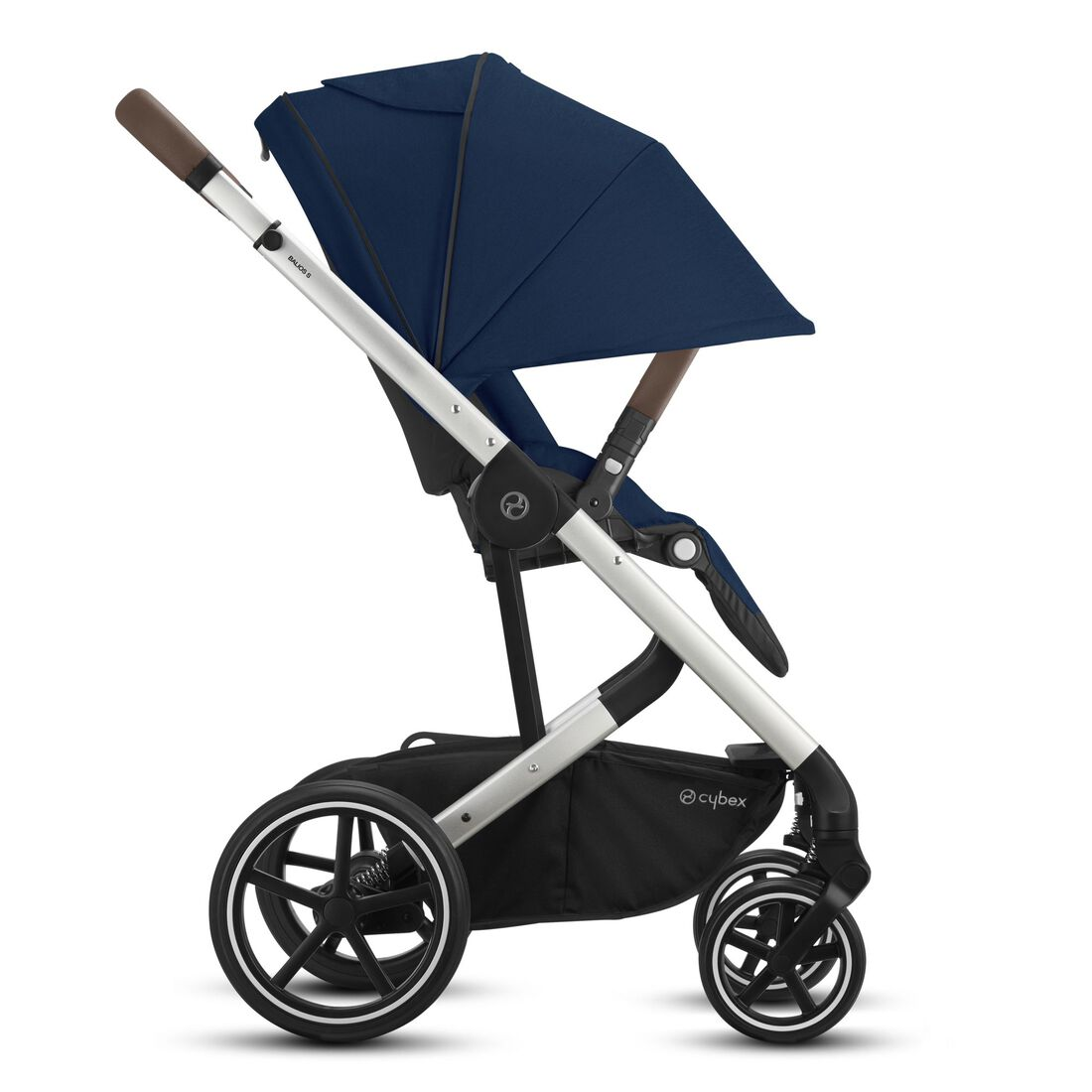 CYBEX Balios S Lux - Navy Blue (Silver Frame) in Navy Blue (Silver Frame) large image number 5