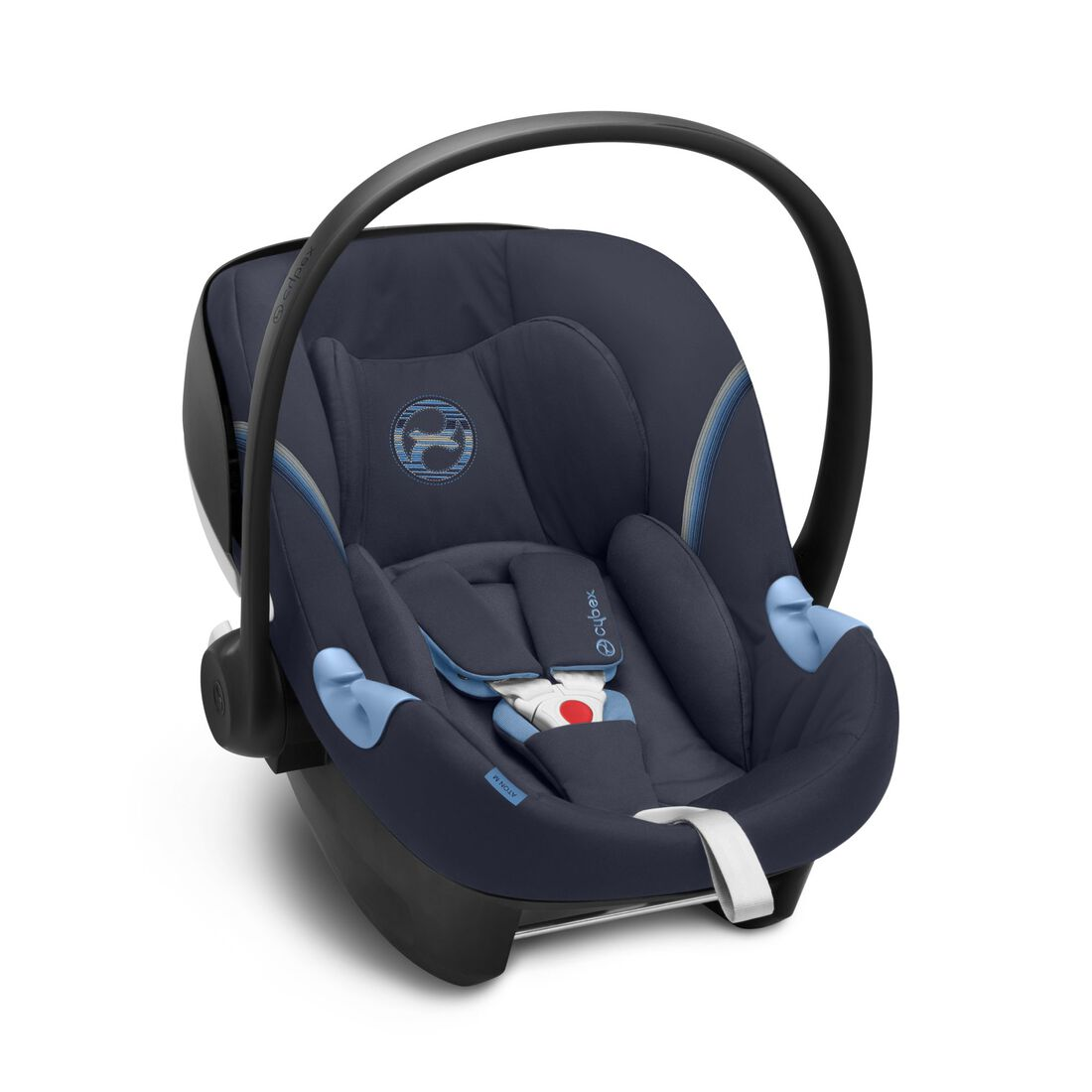 CYBEX Aton M i-Size - Navy Blue in Navy Blue large image number 2