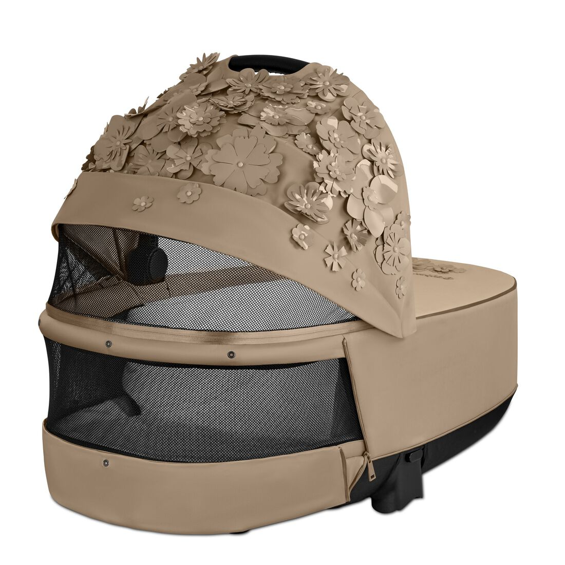 CYBEX Priam Lux Carry Cot - Nude Beige in Nude Beige large image number 4