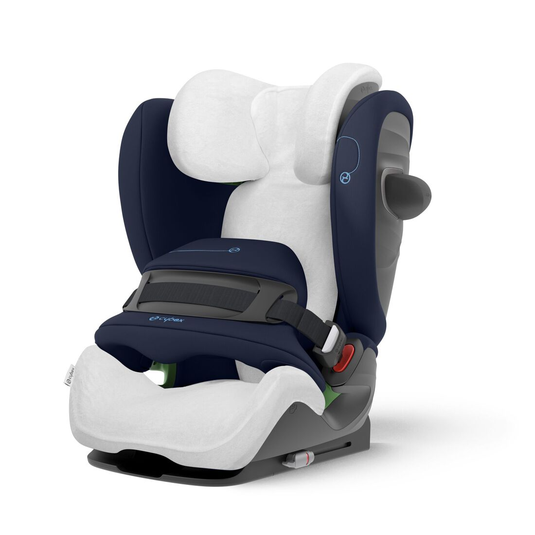 CYBEX Summer Cover Pallas G i-Size - White in White large image number 1