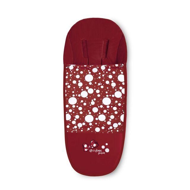 Platinum Footmuff - Petticoat Red