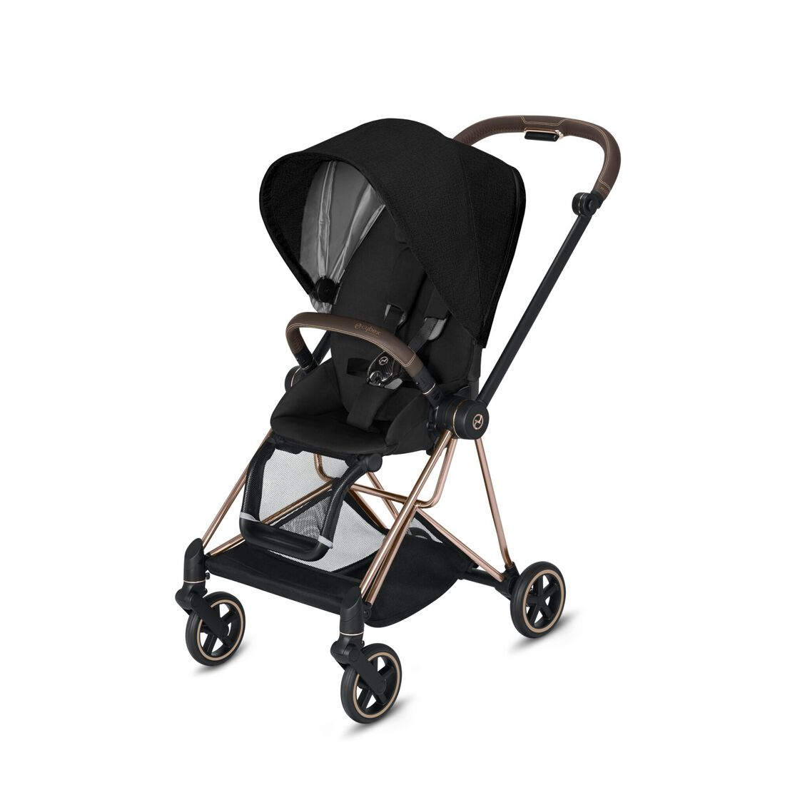 CYBEX Mios Seat Pack - Stardust Black Plus in Stardust Black Plus large