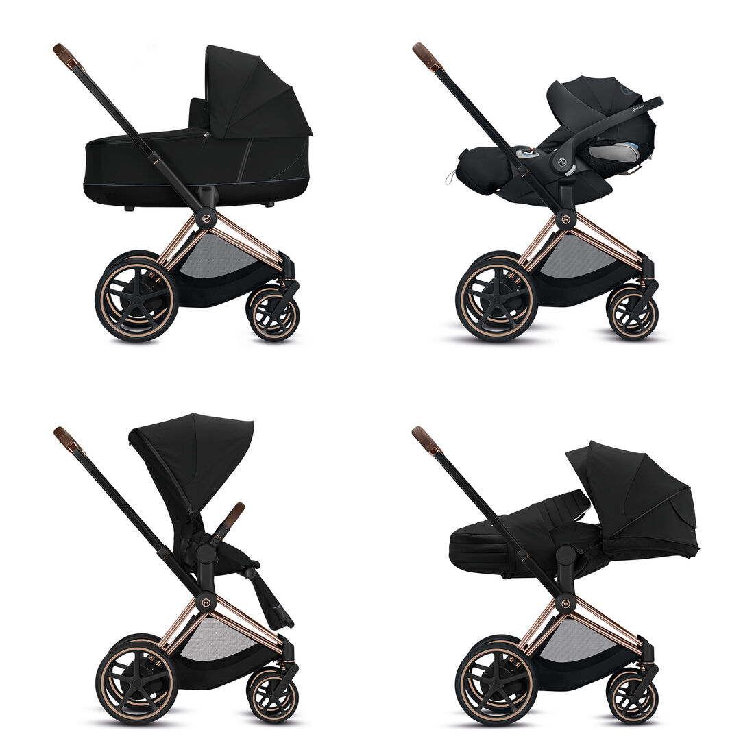 CYBEX Configure e-Priam 4-in-1 Travel System in  large image number 1