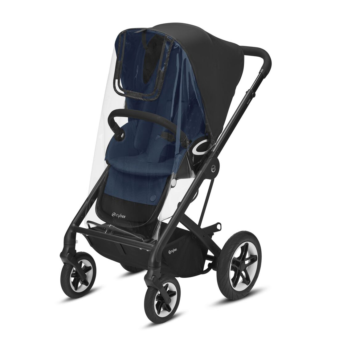 CYBEX Rain Cover Talos S Lux - Transparent in Transparent large image number 1