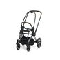 CYBEX Priam Frame - Chrome With Brown Details in Chrome With Brown Details large image number 1 Small