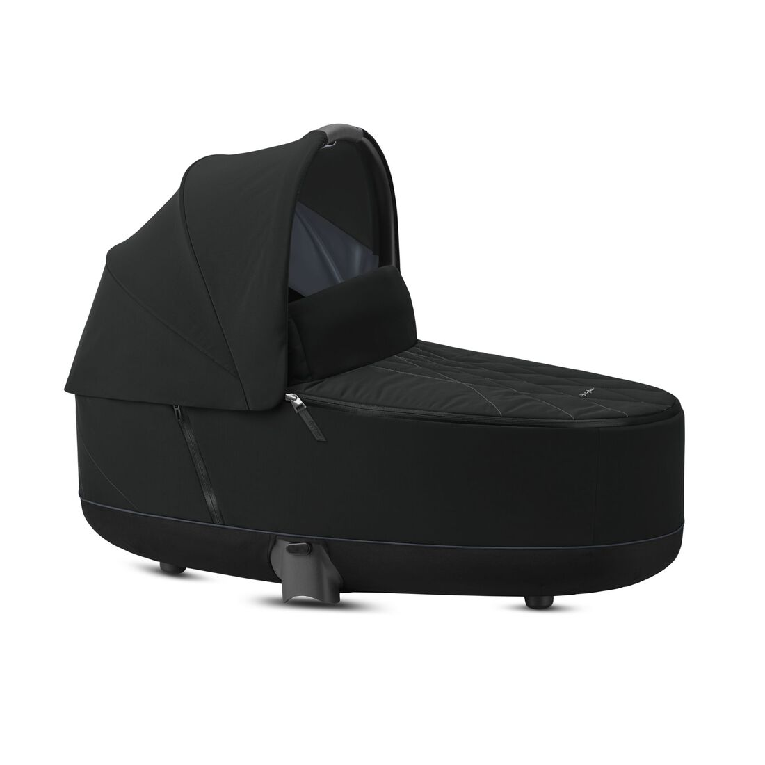 CYBEX Priam Lux Carry Cot - Deep Black in Deep Black large